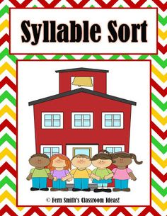 #FREE Back To School Syllable Sort for Common Core #ClassroomFreebies