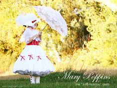 Mary Poppins 'Jolly Holiday' costume: instructions for diy  http://www.makeit-loveit.com/2011/10/halloween-costumes-2011-mary-poppins.html