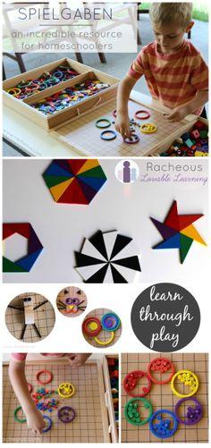 spielgaben ~ racheous lovable learning homeschooling review