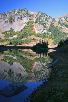 Olympic Mountains,Washington, photo