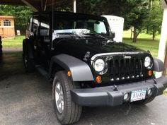 My 2008 Jeep Wrangler Unlimited