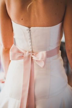 Tied with a pink bow: http://www.stylemepretty.com/canada-weddings/manitoba/winnipeg/2014/01/21/diy-vintage-wedding-in-winnipeg-manitoba-canada/ | Photography: Rachwal - http://www.rachwalphotography.com/
