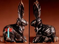 Clissa Martin | Picasso Marble   | Jackrabbit   | Price: $125. +    domestic shipping | Texas sales tax applies to Texas Residents! | CLICK  IMAGE for more views & information. | Authentic Zuni fetishes direct from Zuni Pueblo to YOU from Zunispirits.com!