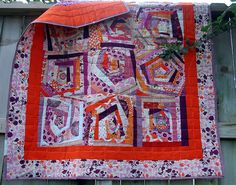 Jacey's wonky quilt