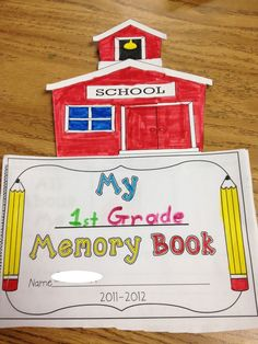 The Lesson Plan Diva: End of the Year Memory Book!