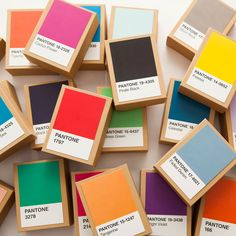 DIY: Pantone advent calendar #rackupthejoy