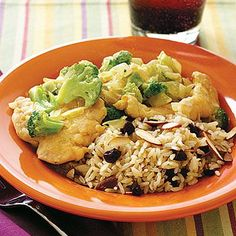 Easy weeknight dinner ideas: Creamy Chicken and Broccoli Curry