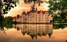 Glücksburg Castle (German Castle)