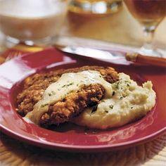 Chicken-Fried Steak | MyRecipes.com