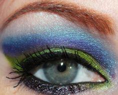 Sugarpill Nightberry Tutorial. Click through to see how to do it! #sugarpill #cutcrease #chartreuse #purple #blue #green #beauty #makeup #crueltyfree