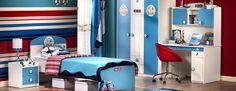 Sea themed room from Çilek cocuk odası.