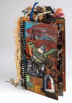 "Free Handmade Book Project: ""Get the Skinny on Mixed-media Books"" by Chrysti Hydeck"