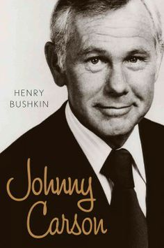 Johnny Carson by Henry Bushkin.  Click the cover image to check out or request the biographies and memoirs kindle.