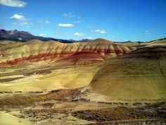 Painted Hills    Fossil, Oregon