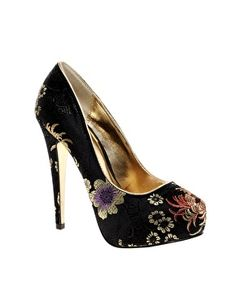 Enlarge ALDO Poole Platform Court Shoes via @asos
