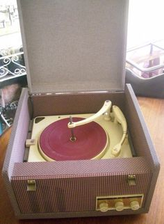 Ekco portable record player