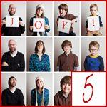 Christmas card family photo ideas