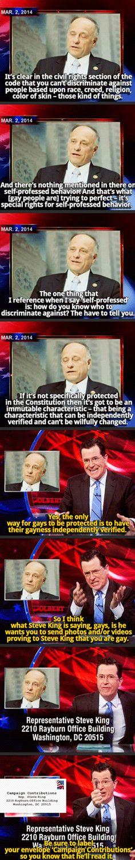 Stephen Colbert Gets It