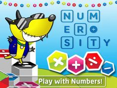 FREE app (reg 2.99) Numerosity: Play with Numbers!