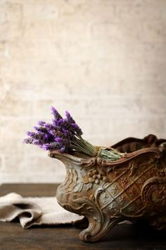 French antiques and lavender