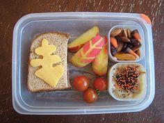 Fall Theme Kids Lunch