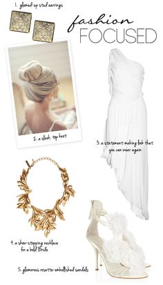 Fashion Focused Bridal style from NET-A-PORTER