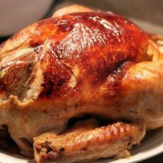 "Juicy Thanksgiving Turkey | ""LOVE this recipe! Everyone I have cooked this recipe for talks about how good the turkey at Thanksgiving was even years later!"""