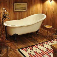 Clawfoot Tub Bathroom Design,