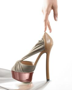Stripper glamour: Fendi platform heels