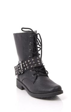 lace up #combat #boot