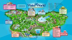 mile high, destin colorado, water world, summer vaca, high citi, color colorado, water parks, fun place