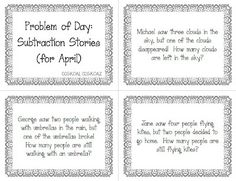 Classroom Freebies: Problem of the Day: Easy Math Routine!