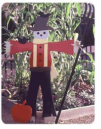 Fall Scarecrow Woodworking Plans