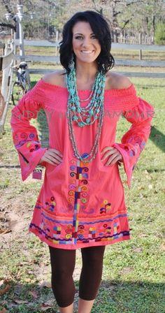 You Da One Coral Dara VaVa Dress www.gugonline.com $149.95