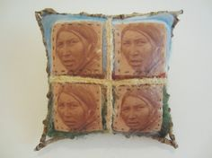 First Nations Inspired Miniature Cushion
