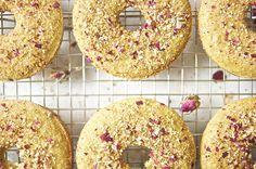 gluten free | dairy free | rose sugar doughnuts