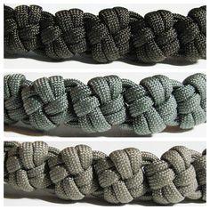 Square Knot paracord bracelet squar knot, paracord bracelets, tie, survival bracelets, knot paracord