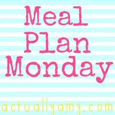 Meal Plan Monday {Week 2}