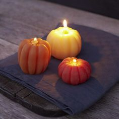 Beeswax gourd candles