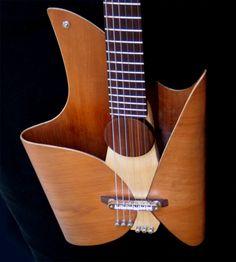 Leaf Guitar - Luthier: Ezequiel Galasso