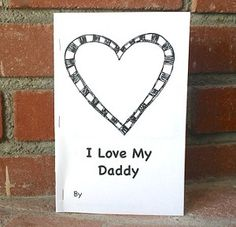 PRINTABLE! Make Dad a special book filled with all the reasons you love him.