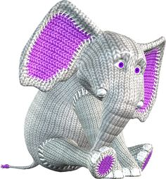 Elephant Boxers Knitting Pattern : Tejido on Pinterest Crochet Elephant, Knitted Boot Cuffs and Toys