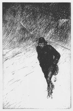 Théophile Steinlen, #etching