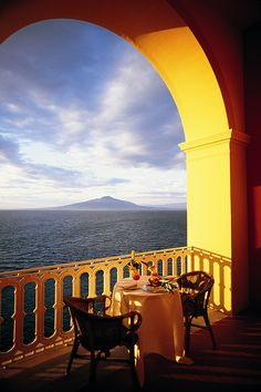 Grand Hotel Excelsior Vittoria in Sorrento | A wonderful view!