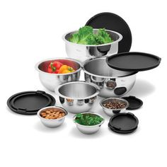 Stainless Mixing Bowl Set now featured on Fab.