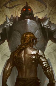 Edward and Alphonse Elric - Fullmetal Alchemist
