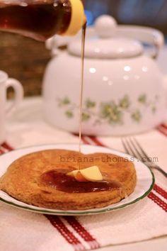 Jumbo Pumpkin Pie Pancake for One - Low-carb, sugar-free, THM:S