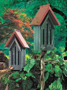 bird houses in gardens, butterfli hous