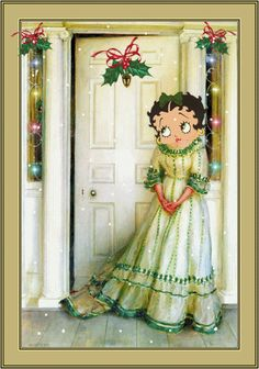 Betty Boop.......home for the holidays!