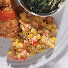 Creamed Corn | CookingLight.com #myplate, #veggies, #dairy